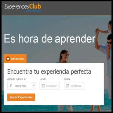 Smartweb - Experiences Club Mar Menor